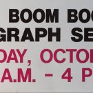 Bobby Hull and Boom Boom Geofferion Signed Vintage Sign - Chicago, Montreal