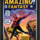 First Appearance of Spider Man - Amazing Fantasy - Framed Art Print