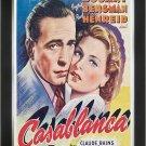 Casablanca - Vintage Movie Poster - Framed Art Print