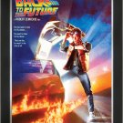 Back To The Future - Vintage Movie Poster - Framed Art Print