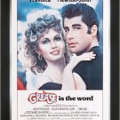 Grease Musical - Vintage Movie Poster - Framed Art Print