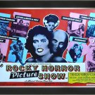 The Rocky Horror Picture Show Red - Vintage Movie Poster - Framed Art Print