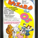 The Wizard Of Oz - Vintage Movie Poster - Framed Art Print