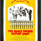 The Rocky Horror Picture Show Yellow - Vintage Movie Poster - Framed Art Print