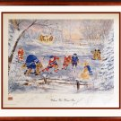 Signed When We Were Six, #1/600  - Kelly, Howell, Bower, Hull, Lafleur, Esposito