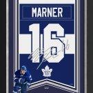 Mitch Marner Framed Arena Banner Ltd Ed 116/116 - Maple Leafs, Facsimile Signed