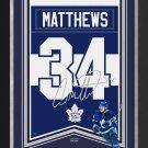Auston Matthews Arena Banner Ltd Ed 34/134 - TO Maple Leafs, Facsimile Signed