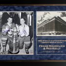 Frank Mahovlich and Red Kelly Signed 11x14 Photo, Ltd Ed /19