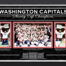 Washington Capitals Ovechkin and Holtby, Ltd Ed 70 of 88 - Stanley Cup Champions