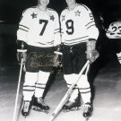 Bobby Hull & Gordie Howe 8x10 Ltd Ed /9, Signed by Hull - Blackhawks, Red Wings