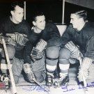 Signed Sid Abel & Ted Lindsay 8x10 Photo, Detroit Red Wings