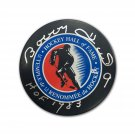 Bobby Hull Signed Hockey Hall of Fame Puck - Chicago Blackhawks, Winnipeg Jets