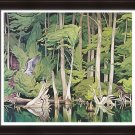 """A.J. Casson Limited Edition Group of Seven """"""""Blue Heron"""""""" - Framed Art Print"""