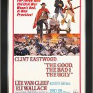 The Good, The Bad & The Ugly - Vintage Movie Poster - Framed Art Print
