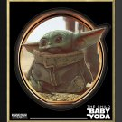 Baby Yoda - The Child From The Mandalorian - Limited Edition - Framed Print