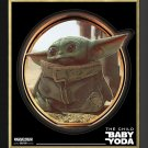 Baby Yoda - The Child From The Mandalorian - Ltd Ed 199/199 - Framed Print