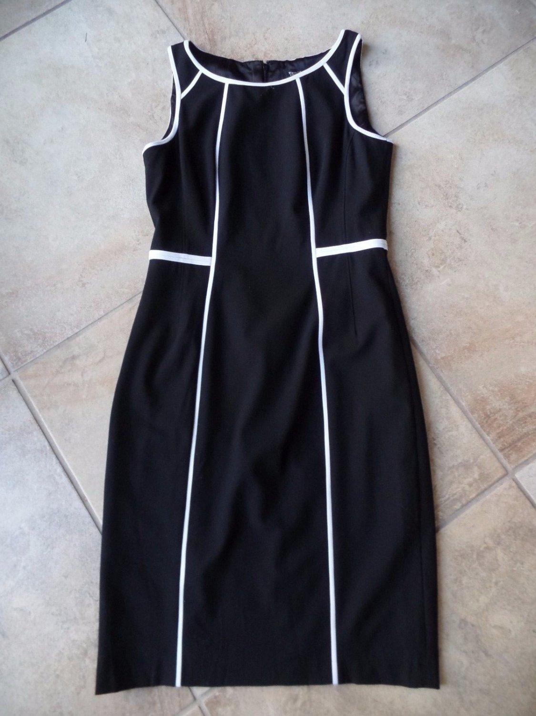 NWT WHITE HOUSE BLACK  Classic Sheath Dress 4