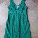 NWT MAX STUDIO Green Sleeve Lace Sheath Dress L