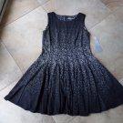NWT Eliza J Printed Sleeveless Fit & Flare Sheath Dress 16