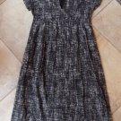 ISDA & CO Printed Cap Sleeve 100% Cotton Midi Sheath Dress 4