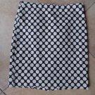 J CREW Blue/White Cotton Blend Polka Dot Classic Straight  No. 2 Pencil  Skirt 4