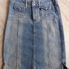SILVER JEANS Denim Straight Pencil Skirt 25