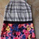 NWT ANN TAYLOR LOFT Sleeveless Floral Printed Shift Dress 12