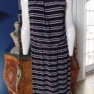 NWOT WHITE HOUSE BLACK MARKET Sleeveless Striped Stretch Sheath Dress 16