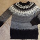 ONE OF A KIND 100% Alpaca Crewneck Classic  Sweater M