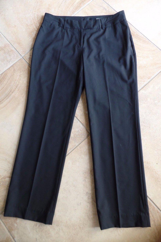 Jay Godfrey for Cintas Black Wool  Blend Hospitality Uniform Dress Pant 10