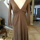 ELLA MOSS Stretch Jersey Empire Waist  Dress S