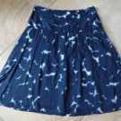 THEORY 100% Cotton Tie dye  A Line Lucina Skirt 0