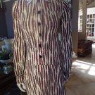 Diane von Furstenberg Sheena 100% Silk Feather Print Shift Dress 6