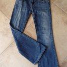 MEK DENIM Chicago Bootcut Medium Wash Low Rise Jeans 28