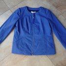 NWT $325 WINDSMOOR Purple Front Zip WindBreaker Nylon Jacket UK 14