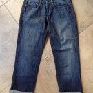 JOE'S Socialite Kicker Capri Cropped Vanna Wash Women's Jeans 24