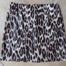 NWT CHICO'S Travelers Animal Leopard Print Stretch Pencil Skirt 3