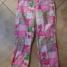LILLY PULITZER Floral Printed Cropped Pants 4