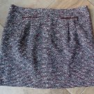 ANN TAYLOR LOFT Tweed Classic Straight Pencil Skirt 18