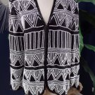 Adrianna Papell Beaded 100% Silk Long Sleeve Evening Jacket Blazer XL