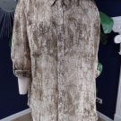 Chico's Button Front Semi Sheer Snake Print Blouse Top Shirt 3