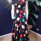 HOWARD WOLF Vintage Maxi Hostess Open Back Dress 10