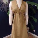 ATHLETA Hooded Sleeveless Drawstring Waist Stretch Shift Dress L