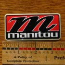 MANITOU FORK MOUNTAIN BIKE BICYCLE FRAME STICKER DECAL