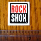 ROCK SHOX Mountain Bike Bikes Fork Shox B STICKER DECAL