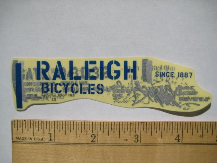 RALEIGH MOUNTAIN ROAD BIKE BICYCLE Tri C STICKER DECAL