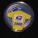 2000 USPS Lance Armstrong Tour De France Bike PIN BADGE