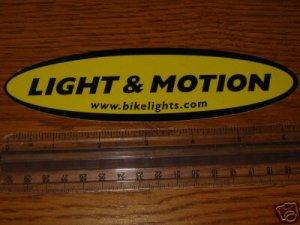 Light & Motion Road MTB Bike Frame Bikes STICKER DECAL