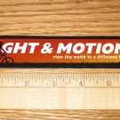LIGHT & MOTION Road Mountain Bike TRI -- DECAL STICKER