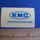 KMC Chain Road MTB BMX Ride Bike Bicycle DECAL STICKER